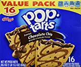 Pop Tarts Frosted Chocolate Chip Value Pack 16 Pastries