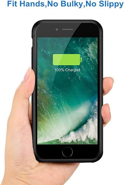 Amazon.com: U-good - Funda de batería para iPhone 7 Plus / 8 ...