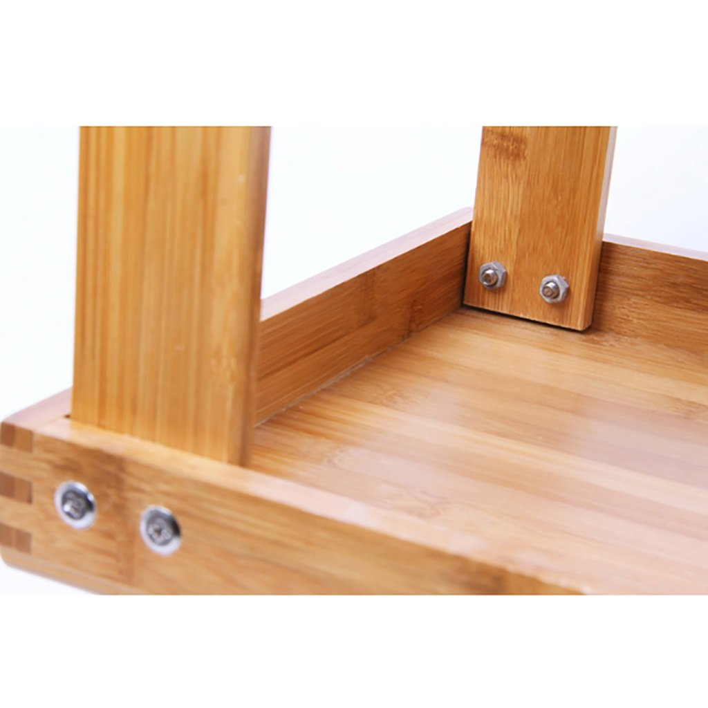 Adecuado para ba/ño Zapatero de bamb/ú Natural de 2 Capas Banco de Zapatos CHAOYANG Zapatero Dormitorio y Pasillo Sala de Estar