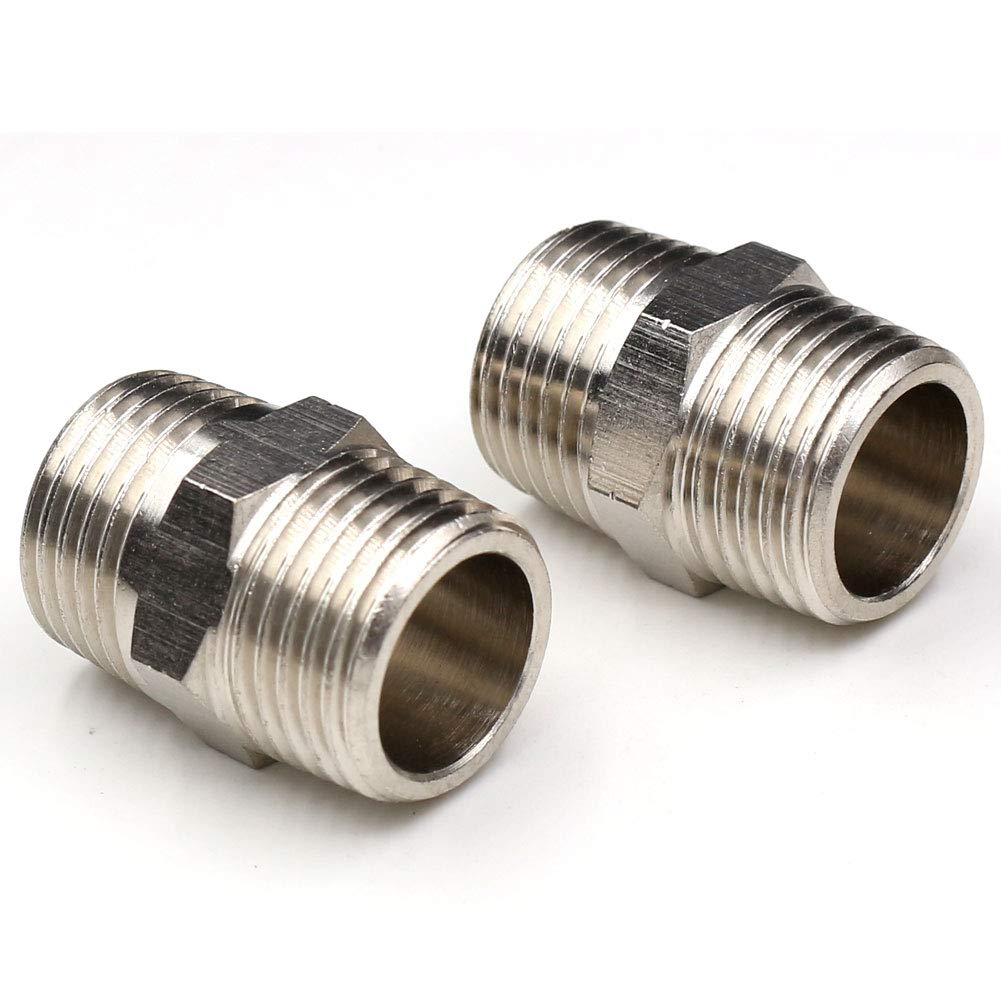 3//8 OD Tubing Push to Connect Air Fittings,CEKER 3//8 NPT Female Airline Push Fittings 3//8 Inch Tube Fittings Pneumatic Push in Connectors Air Hose Fittings 2Packs