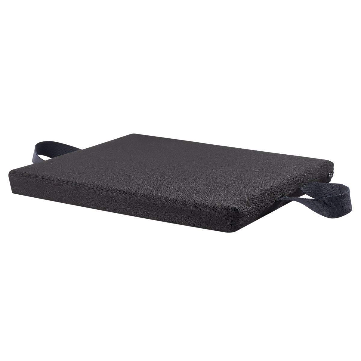 "Sammons Preston Gel Right Plus Foam, 20"" x 18"" x 1-3/4"" Checkerboard, Wheelchair Cushion for Reducing Pain and Increasing Comfort, Wheelchair Seat Cushion, Orthopedic Pad, T-Gel Polymer & Fabric Cover 61hKoqqp5aL._SL1200_"