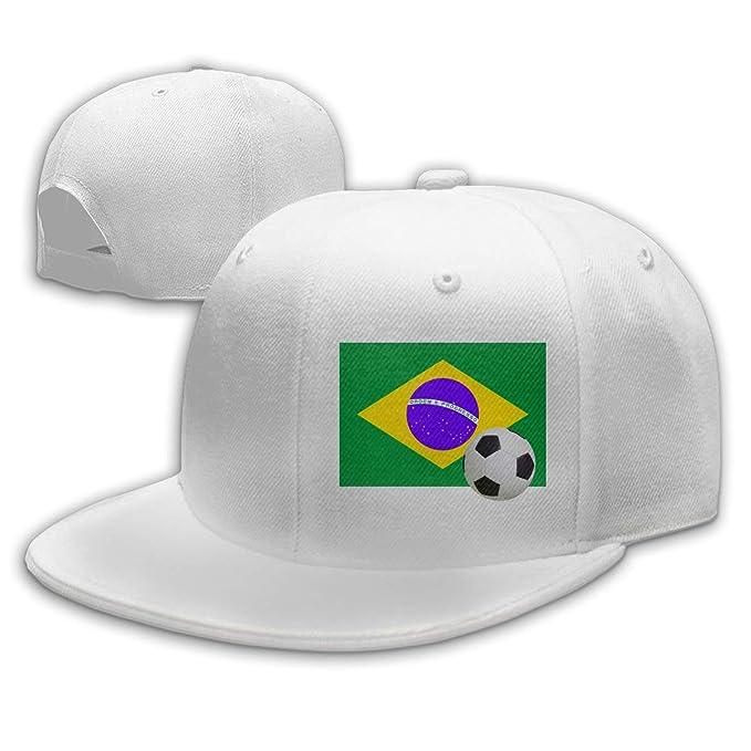Patrick R Garrett Gorra de béisbol Moda Unisex Bandera de Brasil ...