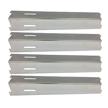 bar. b.q.s 92411 4 Pack BBQ Parrilla de gas térmica placa térmica placa acero inoxidable