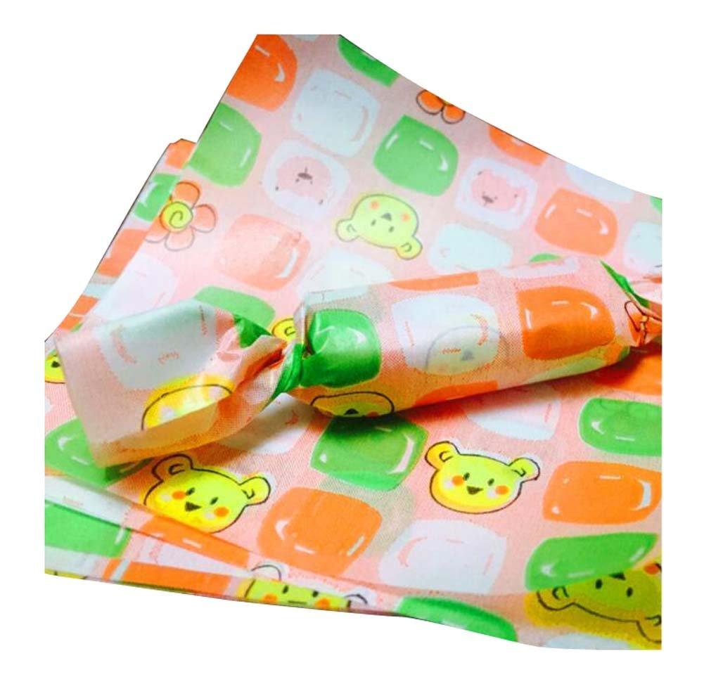 500 PCS Candy Paper Nougat Paper Wrappers Twisting Wax Paper 125CM-E5