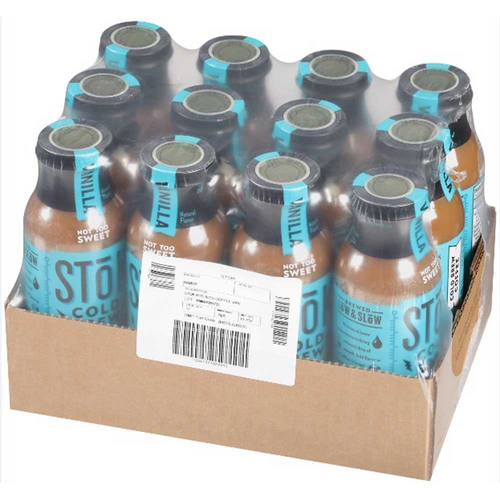 SToK Vanilla Cold Brew Iced Coffee, 13.7 Fluid Ounce - 12 per case.