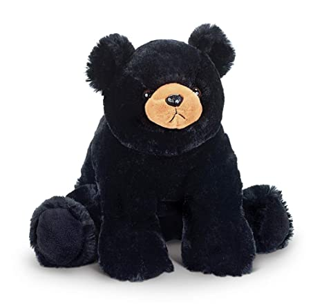 Good The Bearington Collection Black Bear Cub Very Soft Plush Dolls & Bears
