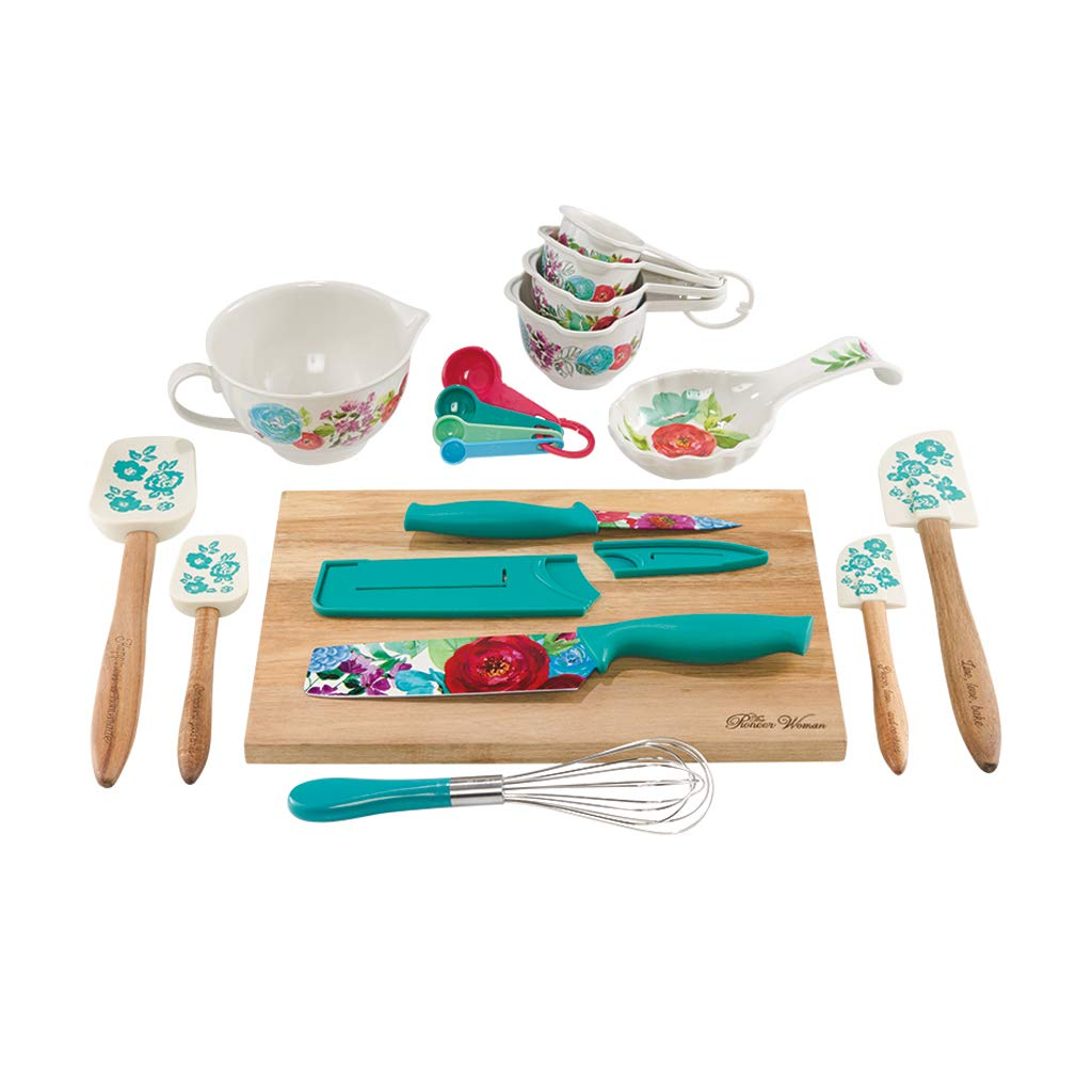 The Pioneer Woman Clara Pattern 20-Piece Gadget Set by The Pioneer Woman