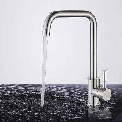 Homelody rubinetto per cucina girevole a 360 ° miscelatore ...