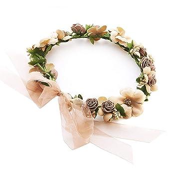Girlande Travel Crafts PE Schaum Rose Simulation Braut Sen Female Headwear Stirnband