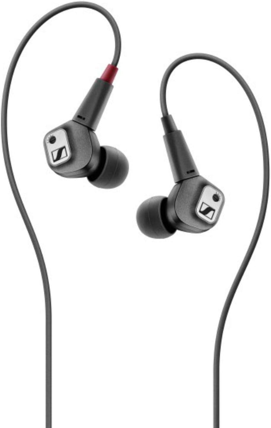 Sennheiser IE 80 S Adjustable Bass Earbud Headphone, Black