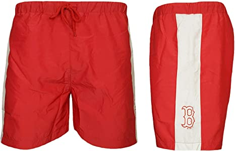 Majestic Boston Red Sox Baseball Board Shorts Mens ALL SIZES MLB Swim Board