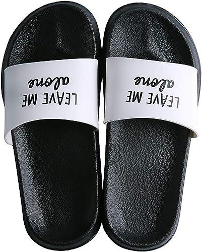Summer Men Anti Skid Flats Slippers Bathroom Indoor Comfy Pool Casual Sandals