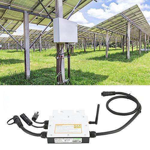 250 W MPPT Micro Solar Inverter Konverter, IP65 Wasserdichter 18-50 VDC Bis 120/230 VAC Solar Grid Tie Inverter 50/60 Hz Smart Grid Tie Micro Inverter Netzteil Wechselrichter mit 2,4 G Antenne(120V)