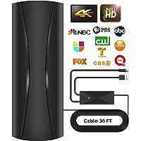 2021 Strongest Amplified Digital HDTV Antenna Support Smart TVs and All Older TVs -320 Miles Range 360° Reception…