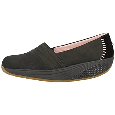 MBT Azima Slip-On Women Schuhe black-silver pink - 40 zvLQUnAY9