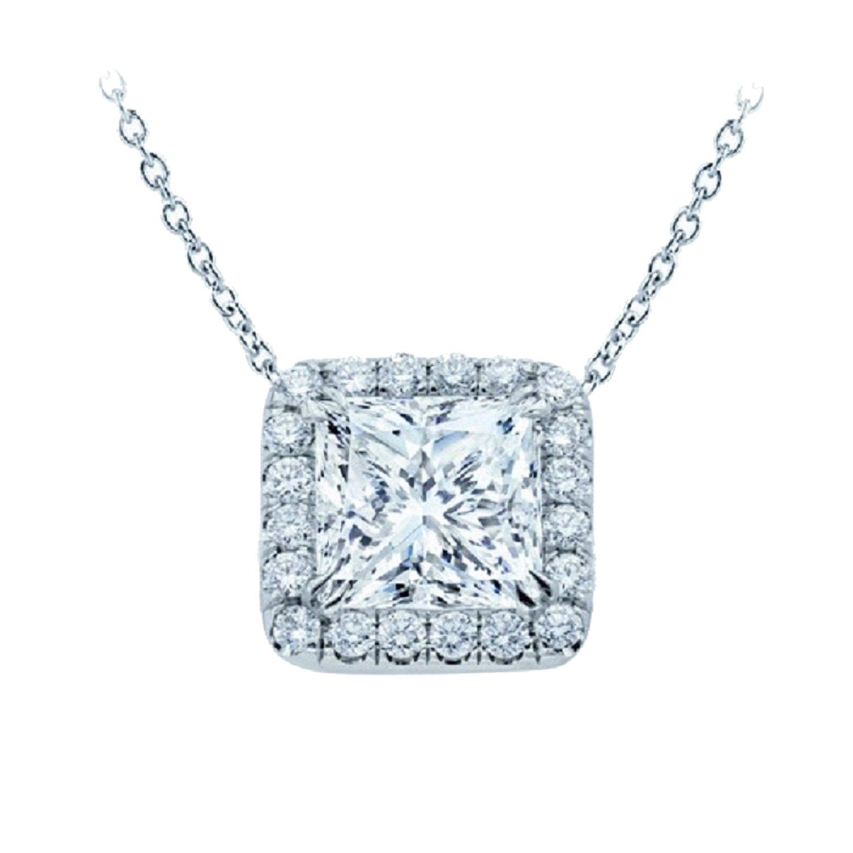 Diseño de princesas Disney de diamante de corte Halo lámpara ...