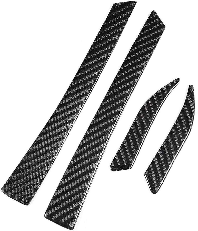 Garniture de couverture de r/étroviseur bande de garniture de couverture de r/étroviseur en fibre de carbone adapt/ée /à la conduite /à gauche 2015-2017