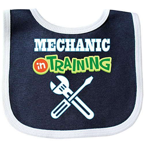 Inktastic - Mechanic In Training Baby Bib (Mechanic Outfit)