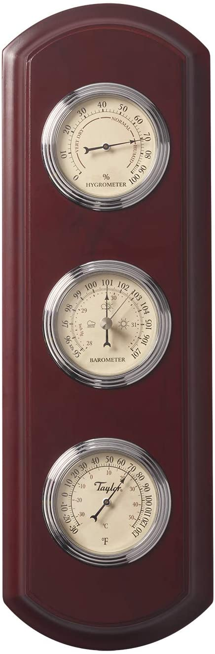 Taylor Precision Products 5262313 Traditional Weather Station, Wood