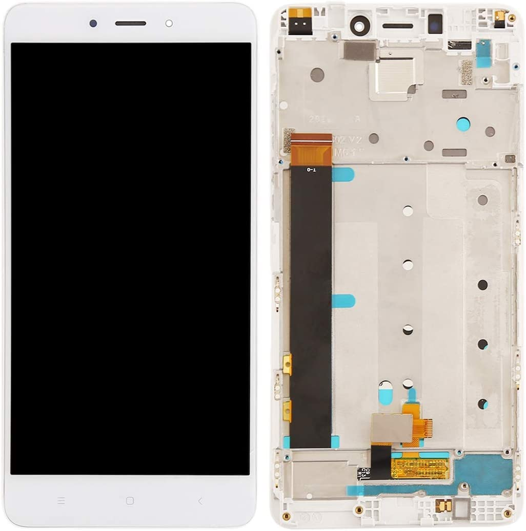 MOBILEACCESSORIES for Tang YI MING TENGLIN LCD Screen and Digitizer Full Assembly with Frame for Xiaomi Redmi Note 4 Black Color : Black