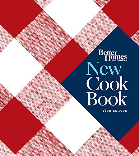 Better Homes and Gardens New Cook Book Sixteenth Edition (Better Homes and Gardens Plaid)
