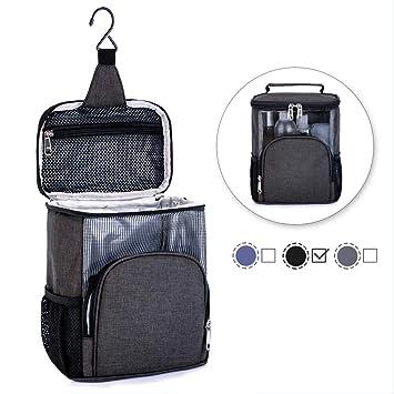 Portable Hanging Wash Bag,Travel Toiletry Bag for Men Women,2018 New Make Up 5b4975ec35