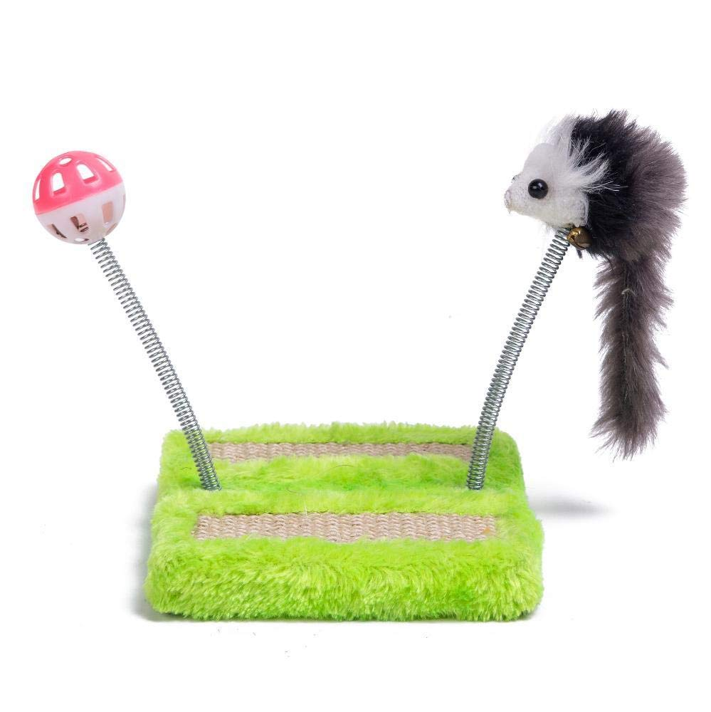 TOUYOUIOPNG Deluxe Multi Level Cat Tree Creative Play Towers Trees for Cats Cat climbing cat Litter cat grab column for sleeping Games 15cm 15cm  19cm