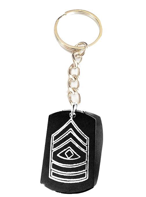 KEY CHAINS Llavero con el logotipo del primer sargento del ...