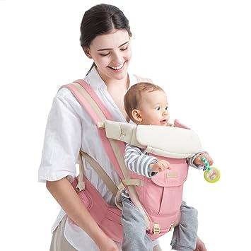 a5cae04f9d96 HUMTUS Hipseat Porte-bébé ergonomique Multiposition 3 en 1, réglable Wrap  Sac à dos