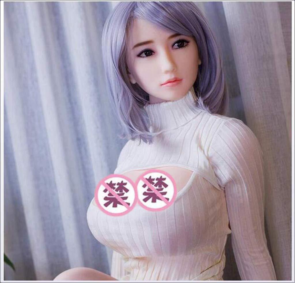 165cm Muñeca semisólida de silicona semisólida Muñeca de tamaño natural Mujer de alta simulación Pechos-Vaginal-anal Realista Manos Pies Masturbación masculina Muñeca inflable mayor 1a5fed