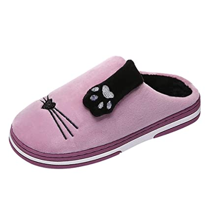 3796fd1cdabfa Amazon.com: Longay Bedroom Shoes, Men Winter Home Slippers Cartoon ...
