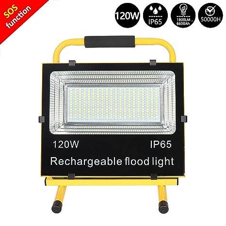 120W LED Foco Proyector, Proyector de Construcción Impermeable ...