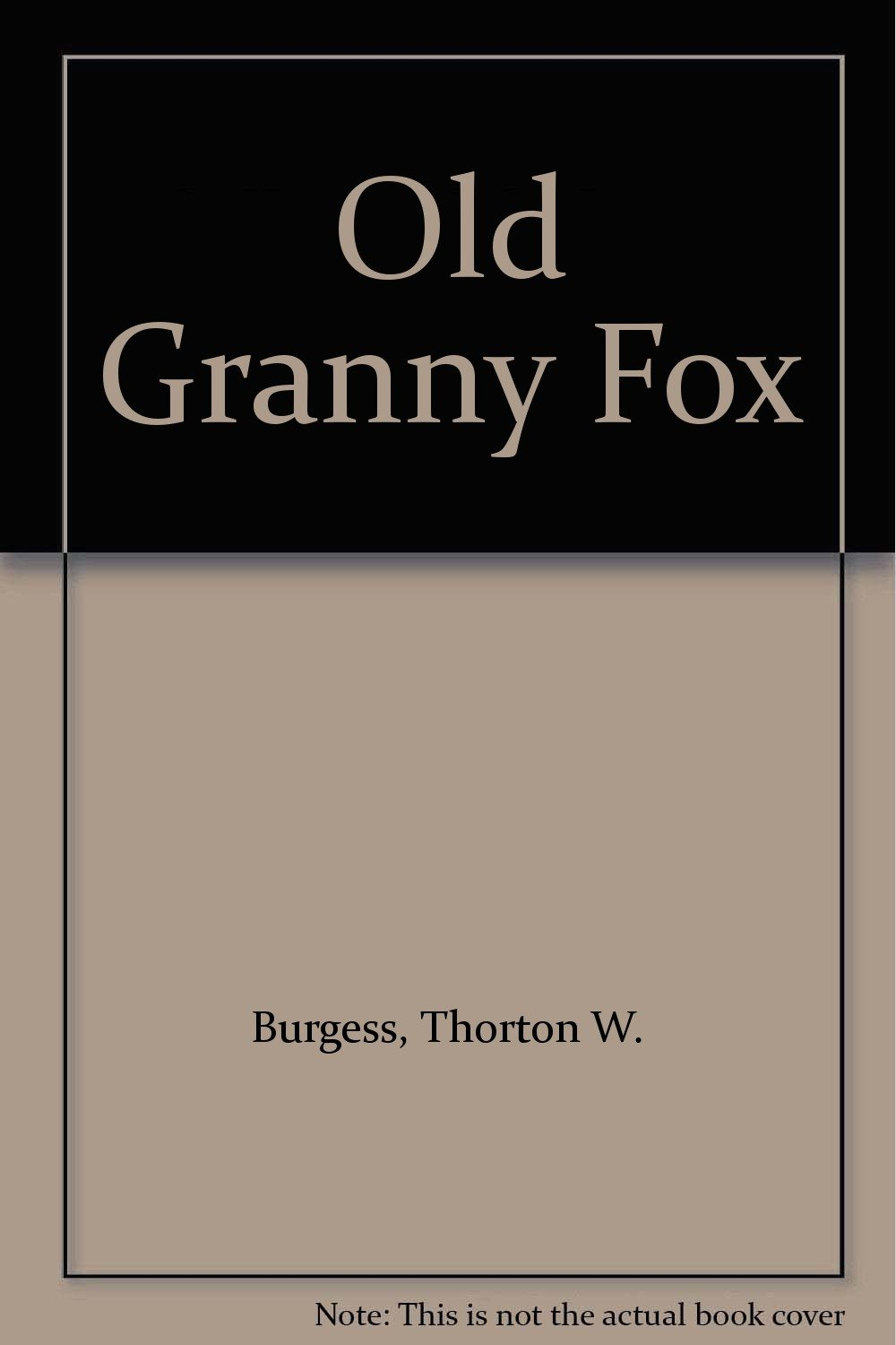 Download Old Granny Fox pdf epub