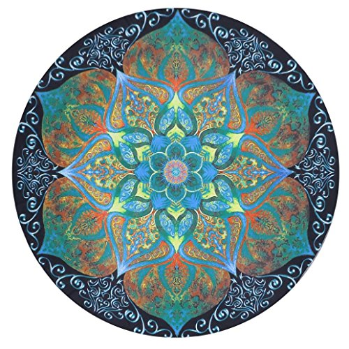 Usstore 1PC Round Mandala Wall Hanging Home Shower Beach Towel Swimwear Bathing Suit Wall Hanging Bedspread tablecloth Cloth Yoga Mat Throw Decor (B) - 72' Room Divider