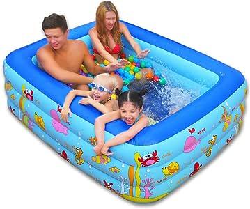 Bañeras con Jacuzzi Baño Plegable Piscina Grande para niños ...