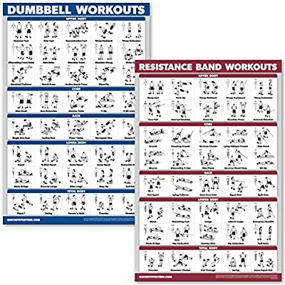 Amazon Com Quickfit Dumbbell Workouts And Resistance Bands