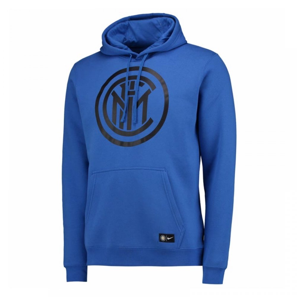 2017-2018 Inter Milan Nike Core Hooded Top (Blue) B0741CVQ87Blue SB 25-27\