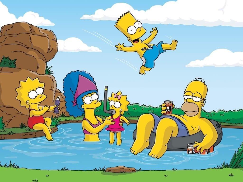 Impresión de póster de la 'The Simpson' A4, se envía en 24horas de primera clasehttps://amzn.to/2BshrlK