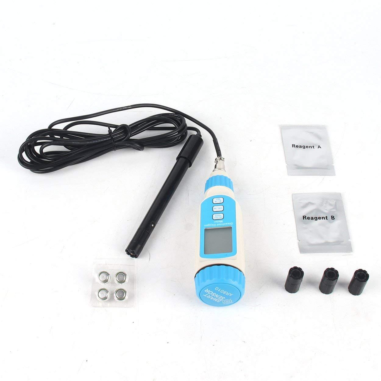 Medidor de oxígeno disuelto AR8010 Portatil Digital