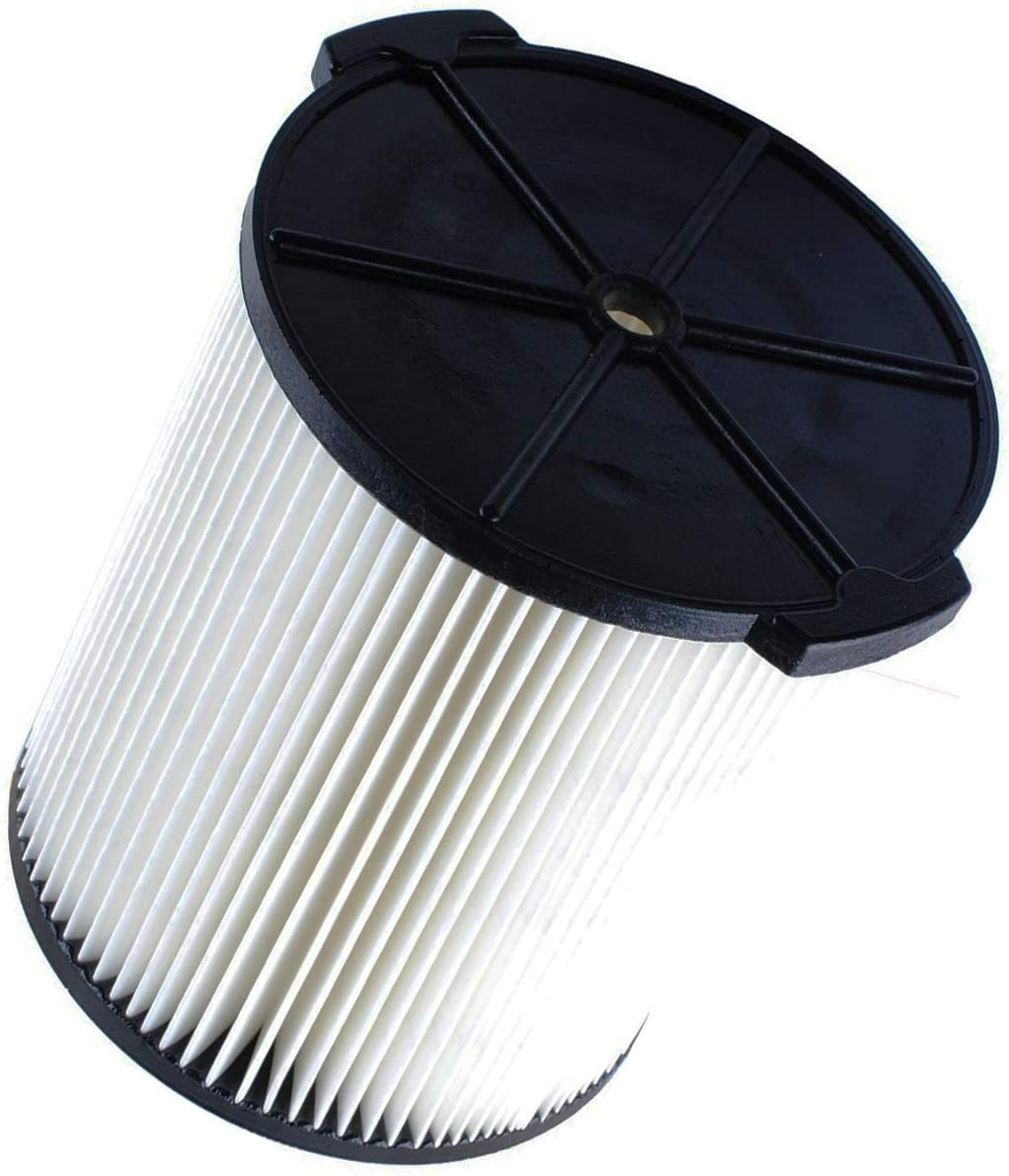 VF4000 Filter for Ridged VF4000 Wet Dry Vacuum 17816 Replacement filter for Craftsman WD5500 WD0671 RV2400A RV2600B