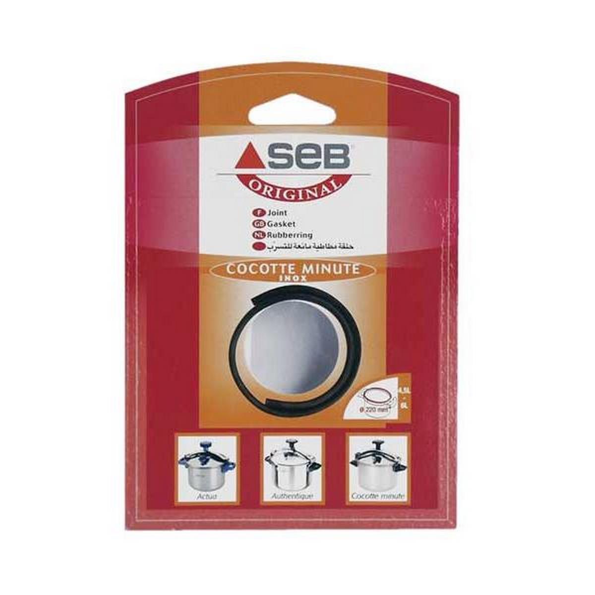 Seb 790136 Accessoires autocuiseurs Joint 4, 5 / 6L Aluminium / Couleur
