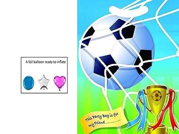 MustBeBonkers X 30 Niños Fútbol Fiesta Cumpleaños Chucherías ...