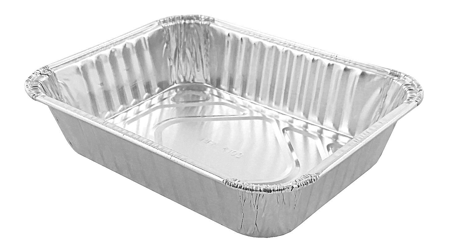 Handi-Foil 1 lb. Oblong Deep School Senior Feeding Disposable Pan (pack of 25)