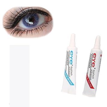 1e173e24a56 2 Pc Makeup Glue,Beauty Top 7Ml Waterproof False Eyelashes Makeup Adhesive  Eye Lash Glue