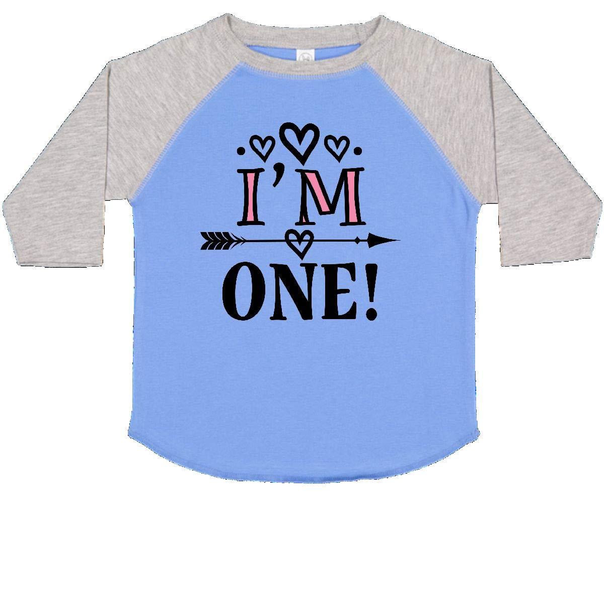 inktastic First Birthday 1 Year Old Cute Arrow Toddler T-Shirt