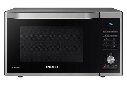 Samsung MC32J7035AS/EG - Microondas con función de horno y grill, color negro y plateado - [Importado de Alemania]