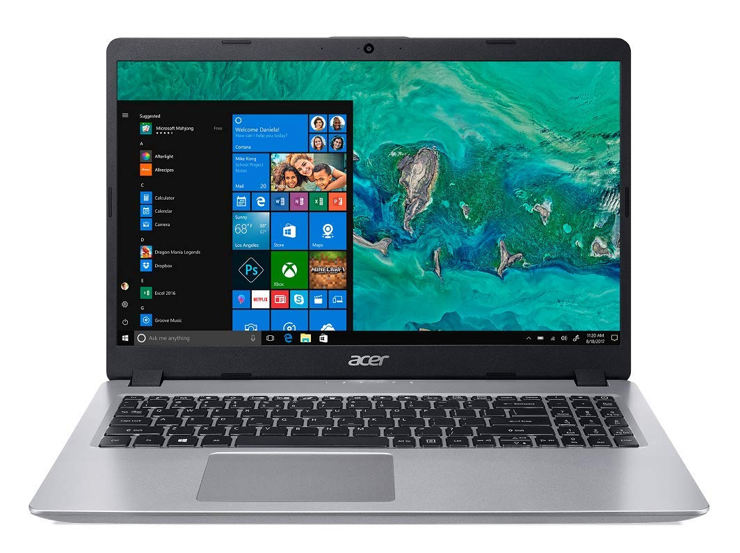 Acer Aspire A515-52G i5 8th Gen 15.6-inch Full HD Thin and Light Notebook (8 GB RAM + 16 GB Optane/1 TB HDD/2 GB NVIDIA GeForce MX130 Graphics/Microsoft Office and Home 2016/Win10), Pure Silver