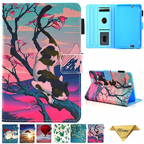 Folio Case for Kindle fire HDX 7, JZCreater Slim Leather Smart Case Cover with Auto Wake/Sleep for Amazon Kindle Fire HDX 7.0 Inch 3rd Generation Tablet, - Hdx Kindle And 7 Cover Fire Case