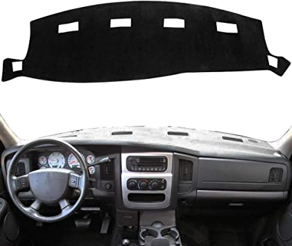 Y22 Dash Cover Dashboard Cover Mat Pad for Dodge Ram 1500 2002-2005,2500//3500 2003-2005 02-05 Gray