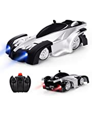 Baztoy Remote Control Car, Kids Toys Wall Climbing Car Dual Modes 360°Rotation Stunt RC Cars Vehicles Toys Children Games Funny Gifts Cool Gadgets for Boys Girls Teenagers Adults, Black